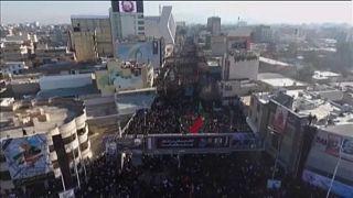 Tömegpánik tört ki Szulejmáni temetésén