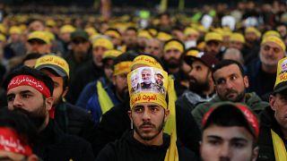 Lübnan'da Süleymani'nin öldürülmesini protesto eden Şiiler