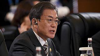 مون جائه این، رئیس جمهوری کرهٔ جنوبی