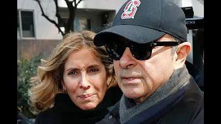 La justice japonaise émet un mandat d'arrêt contre l'épouse de Carlos Ghosn