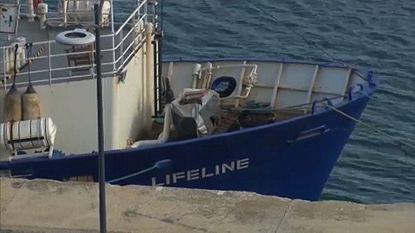La justicia de Malta absuelve al capitán de un barco que rescataba migrantes