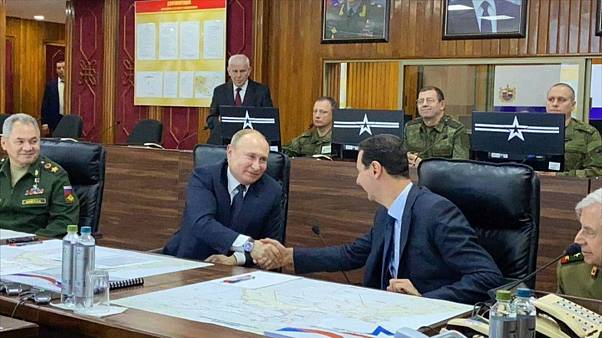 Путин впервые за 9 лет посетил Дамаск