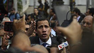 Venezuela opposition leader Guaido takes oath as parliamentary speaker