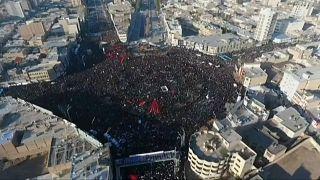 Al menos 56 personas mueren en una estampida en el funeral del general iraní Qasem Soleimani