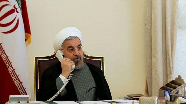 روحانی به ماکرون: امنیت و منافع آمریکا در خاورمیانه در معرض خطر است
