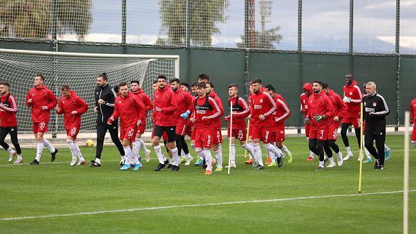 Demir Grup Sivasspor ikinci yarı hazırlıkları