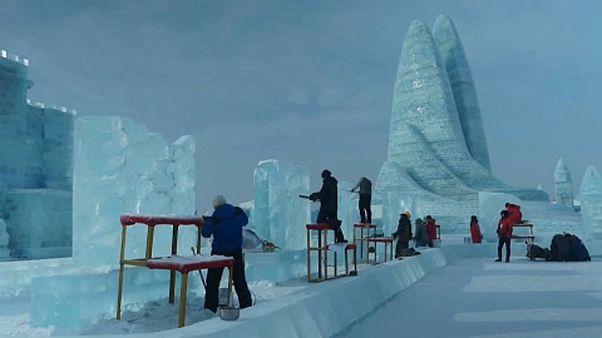 Κίνα: Μια πόλη φτιαγμένη από πάγο