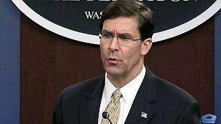 ABD Savunma Bakanı Esper: Irak'ı terk etmiyoruz, İran ile savaş peşinde değiliz