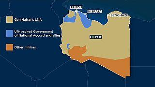 Bürgerkrieg in Libyen: EU fordert Waffenstillstand