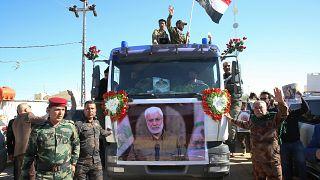 Ιρανοί στην κηδεία του Σουλεϊμανί