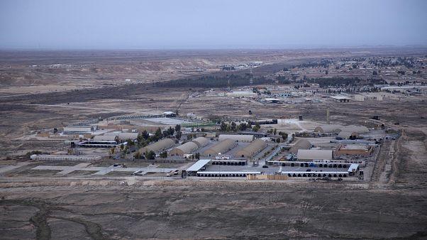 İran, Irak'ın Anbar kentinde Amerikalı askerlerin kaldığı Aynül Esed Üssü'nü füzelerle vurdu (arşiv)