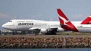 Avustralya Hava Yolu Şirketi Qantas İran hava sahasından kaçınmak için güzergah değiştirdi