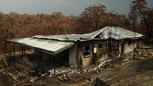 Austrália devastada pelas chamas