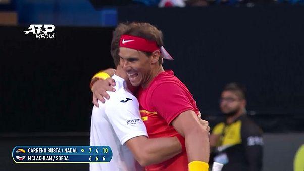 Кубок ATP в Австралии: Испания в 1/4 финала