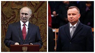 Putyin miatt bojkottálja a Holokauszt Világfórumot a lengyel államfő