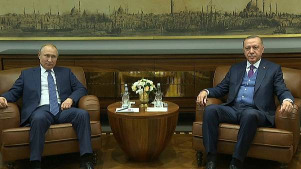 بوتين وإردوغان يدشنان السيل التركي ومواقف عن ليبيا والتوتر بين طهران وواشنطن
