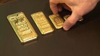 Droh-Scharmützel in Nahost - Gold glänzt