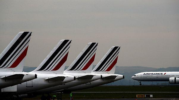 Hallan el cadáver de un niño en el tren de aterrizaje de un avión de Air France en París
