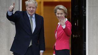 Boris Johnson, l'homme pressé : il vise un accord commercial avec l'UE d'ici fin 2020