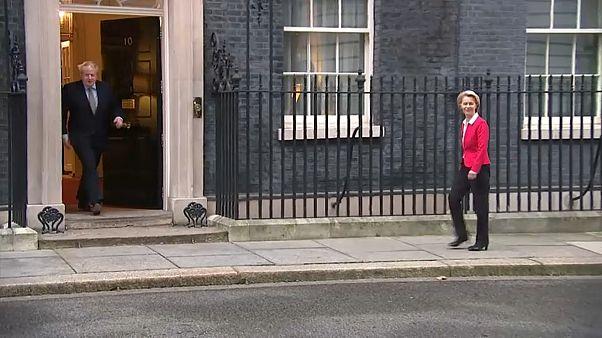 """Ursula von der Leyen warnt Boris Johnson: """"Brexit""""-Deal bis Ende 2020 """"im Grunde unmöglich"""""""