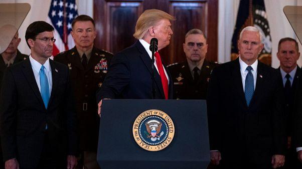 Trump aleja el fantasma de una guerra con Irán y el mundo respira aliviado