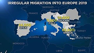 Frontex: Αύξηση προσφυγικών ροών στην ανατολική Μεσόγειο