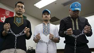 وقفة لمسلمي الإيغور للتنديد بممارسات بكين ضدهم