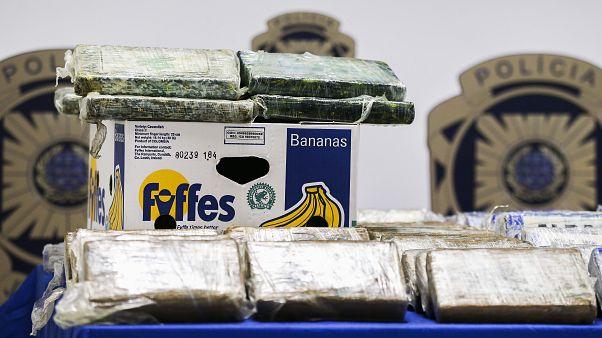 Polícia Judiciária apreende 825 quilos de cocaína