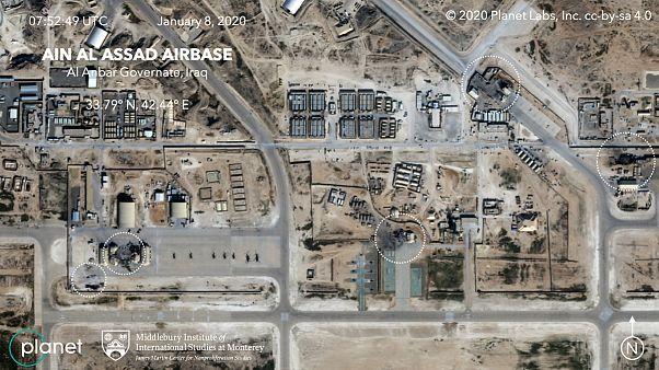 پایگاه هوایی عین الاسد در عراق