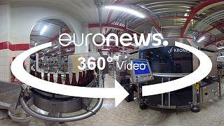 Vidéo 360° : comment les moines trappistes brassent-ils leur bière?