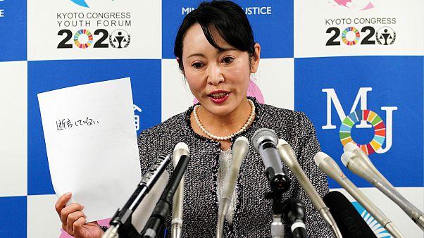 Japonya Adalet Bakanı Mori Masako