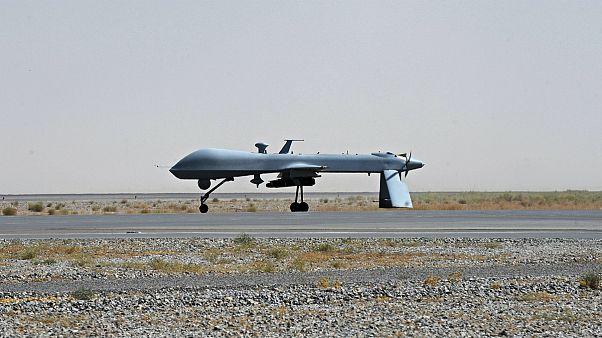 پهپاد آمریکایی در افغانستان