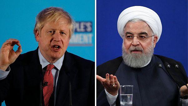 روحانی به جانسون: اگر قاسم سلیمانی نبود شما در لندن امنیت نداشتید