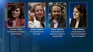El Gobierno de España tendrá cuatro vicepresidencias, una de ellas para la líder de Unidas Podemos