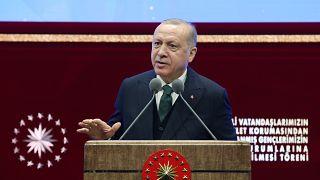 Cumhurbaşkanı Recep Tayyip Erdoğan, engelli vatandaşların ve devlet korumasından yararlanmış gençlerin kamu kurumlarına yerleştirilmesi törenine katıldı