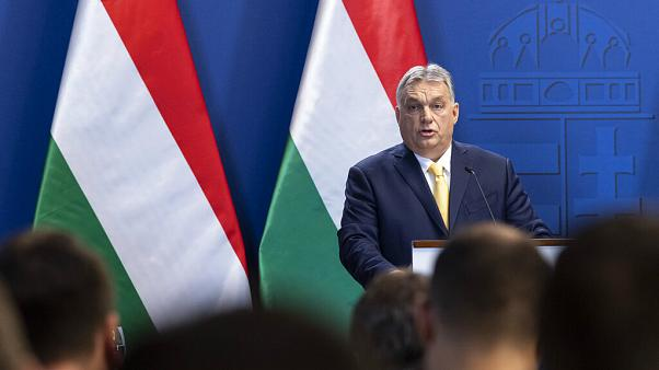 "Viktor Orban insisted he didn't have ""Soros-phobia"""
