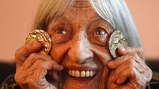 Decana das Olimpíadas, Agnes Keleti, fez 99 anos