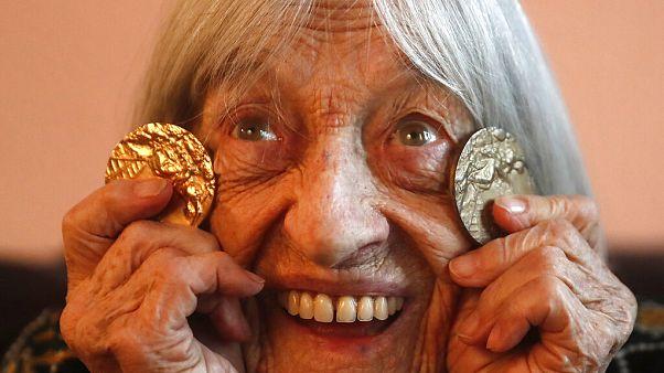 Keleti Ágnes a legidősebb olimpiai bajnok