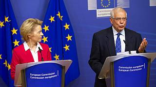 Ursula von der Leyen an EU foreign policy chief Josep Borrell