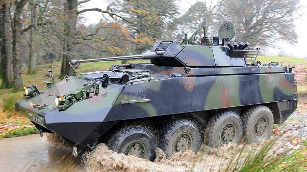 آلية عسكرية