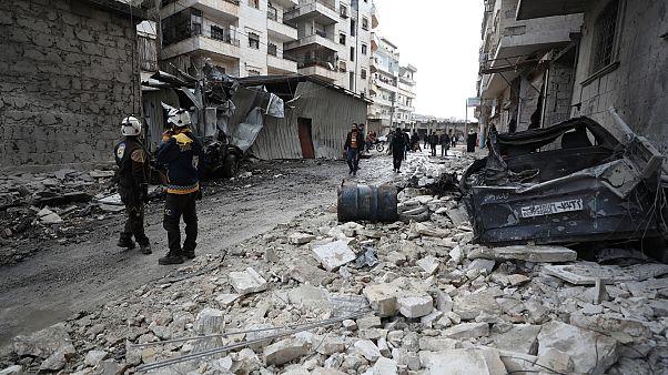 مقتل ثمانية مقاتلين من الحشد الشعبي العراقي في غارات  نفذتها طائرات مجهولة في شرق سوريا