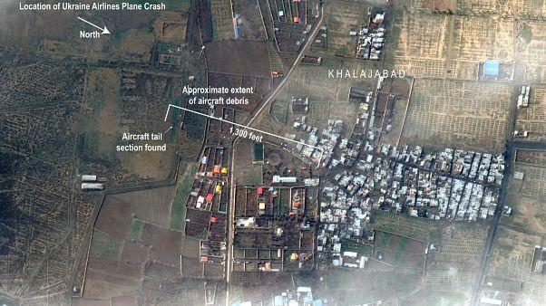 Irán tagadja, hogy rakétatalálat érte volna az ukrán utasszállítót