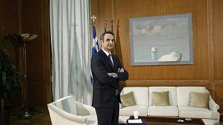 Ο πρωθυπουργός της Ελλάδας Κυριάκος Μητσοτάκης
