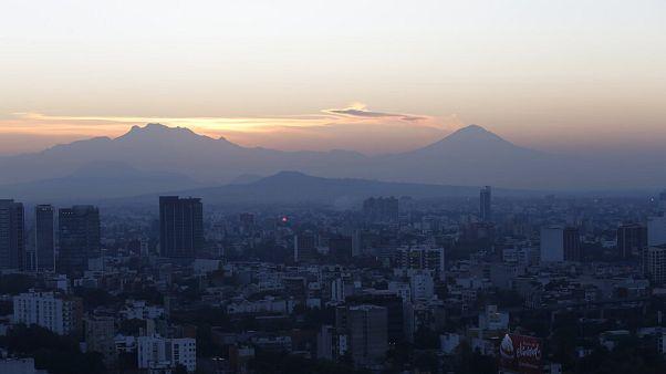 Vulkan Popocatepetl ausgebrochen