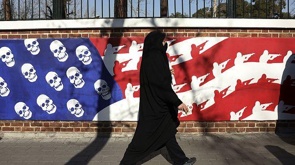На улицах Тегерана после убийства генерала Касема Сулеймани