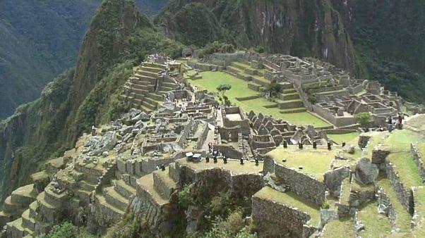 Faültetés Machu Picchu védelmében