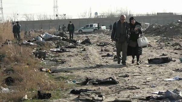 Irán: luto y sospechas tras el siniestro del avión ucraniano