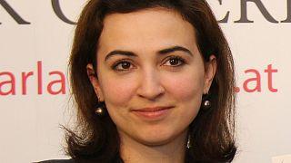 Alma Zadic in April 2018.