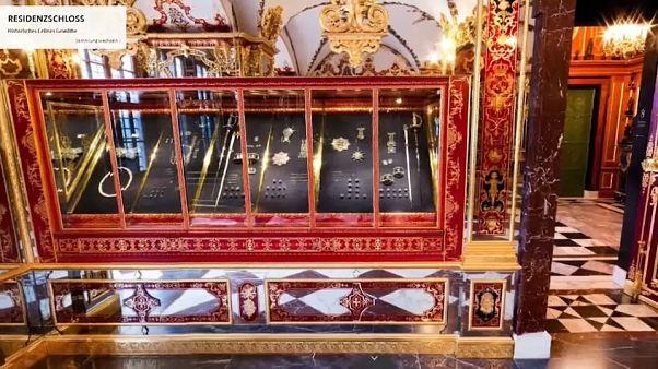 Dresdner Juwelen werden Ermittler zum Kauf angeboten