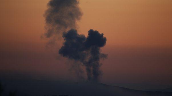 Авиаудар по проиранским группировкам в Сирии